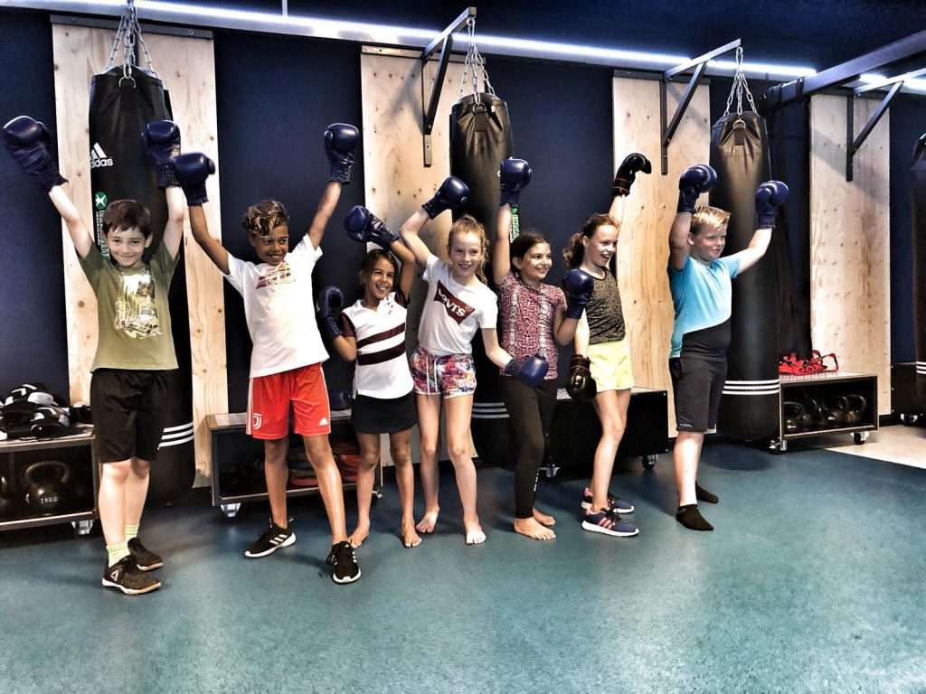 Crossboxing kinderen en teanagers