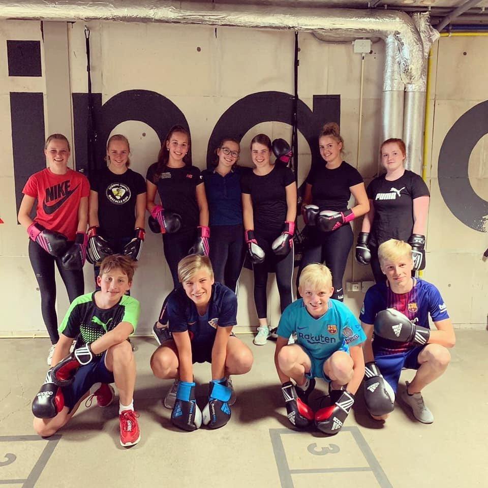 Crossboxing voor kids en teens