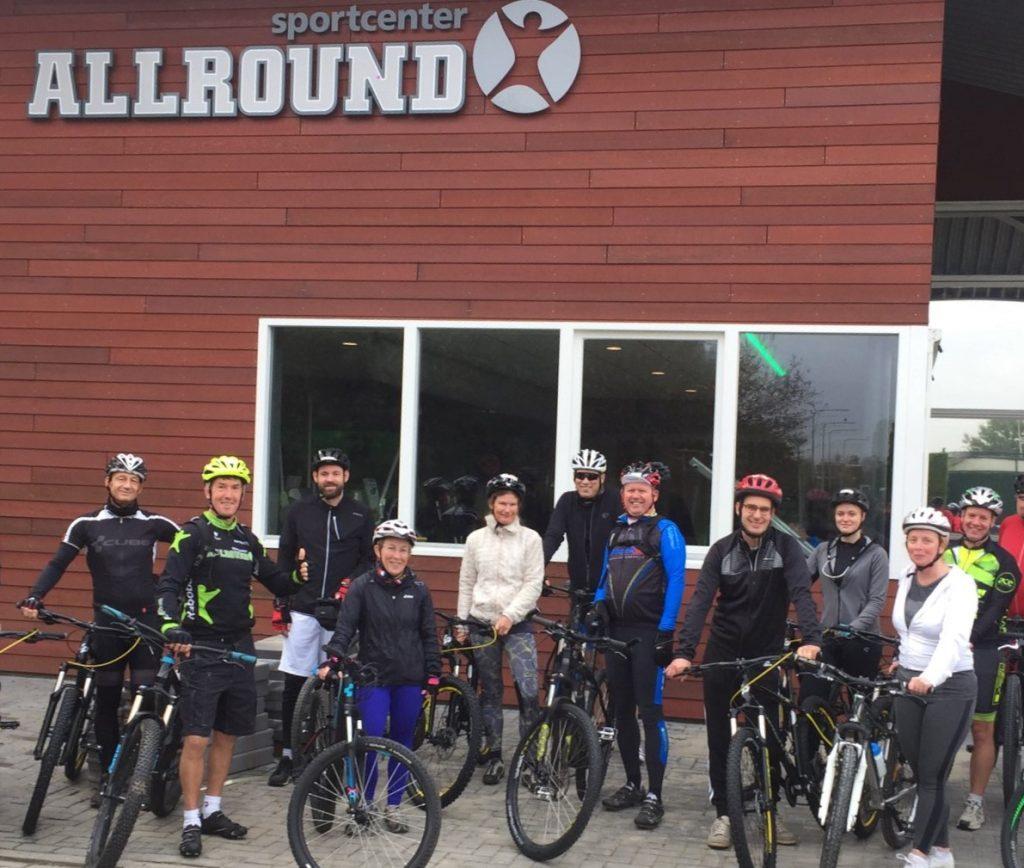 Mountainbiken een technische cursus
